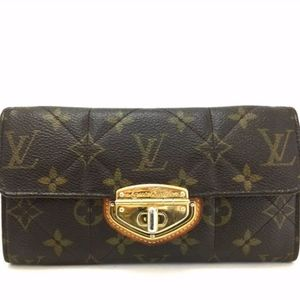 Louis Vuitton Monogram Etoile Wallet + Dust Bag
